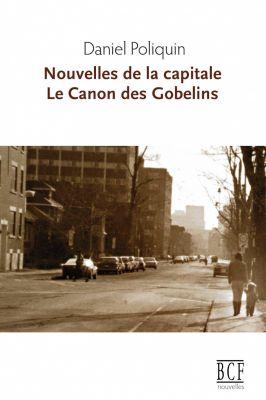 Page couverture d'un document imprimé, en français. Le titre figure en brun en haut de la page, précédé du nom de l'auteur en noir. Une photographie sépia d'une rue d'une grande ville, à une heure de faible achalandage. Sur le trottoir, à droite, une mère tient la main de son enfant.